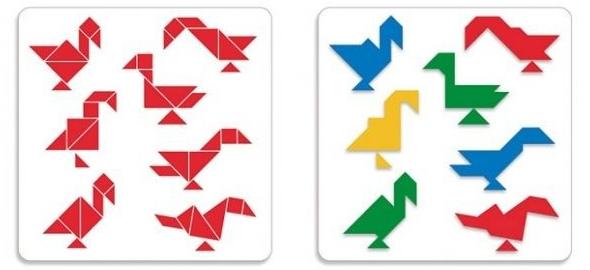 развивающая игра танграм