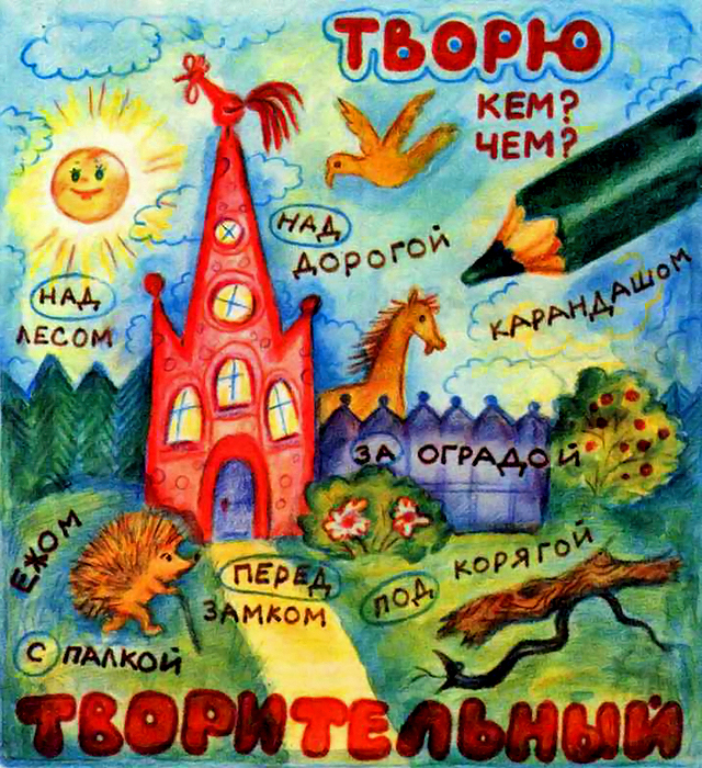 Как запомнить падежи русского языка