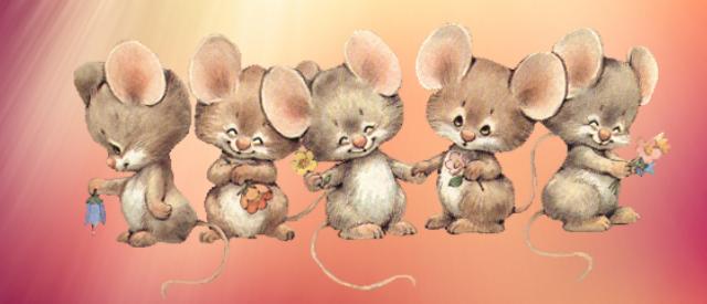 Стихи про мышей